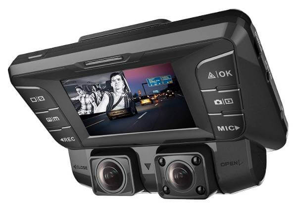 Pruveeo C2 Dash Camera for Cars Uber Lyft Truck Taxi