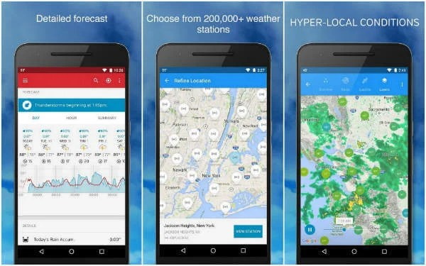 8 Best Android Weather App and Widgets for Smartphone