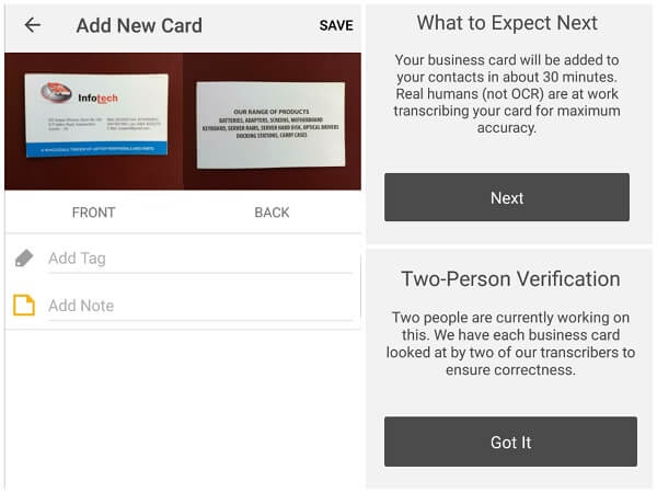 7 best business card scanner apps for android mashtips in order to get a perfect aspect of contacts this android business scanner card app combines google contacts android contacts and social media accounts reheart Image collections