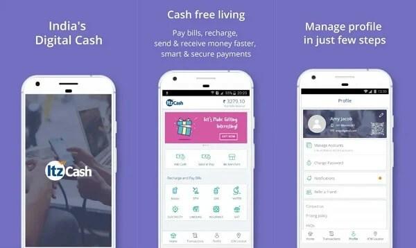 ItzCash - digital wallet apps