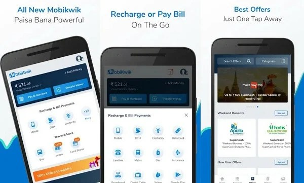 Mobikwik - digital wallet apps