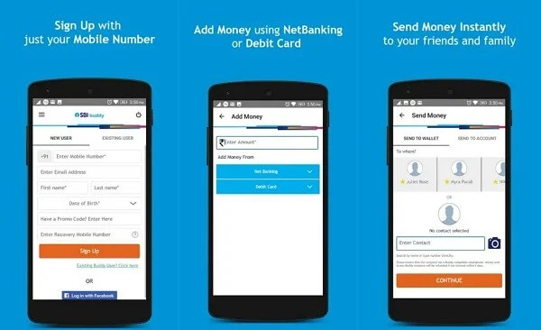 SBI Buddy - digital wallet apps