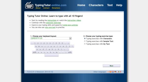 Typing Tutor-online.com