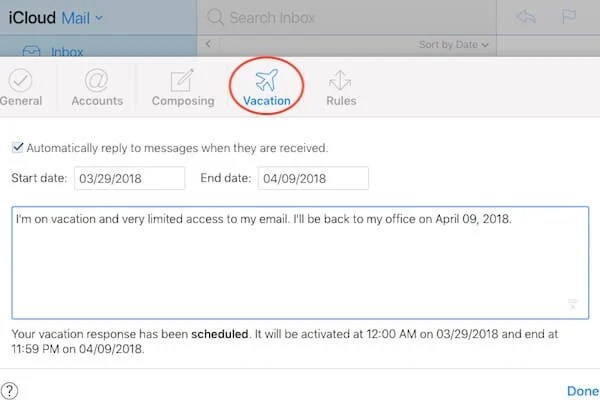How to Set Out-of-Office Auto Reply Message on iPhone for Calls and