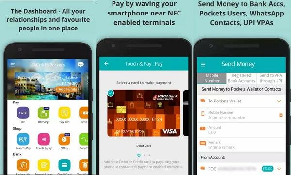 pockets - digital wallet apps