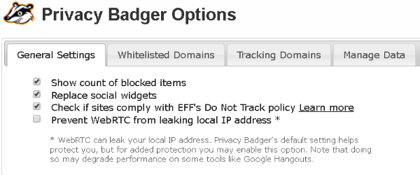 Privacy Badger Browser extension - privacy protection