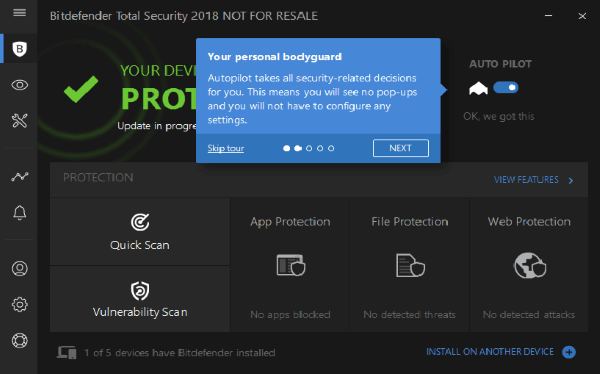 Bitdefender Total Security-One Stop Solution for All Devices | Mashtips