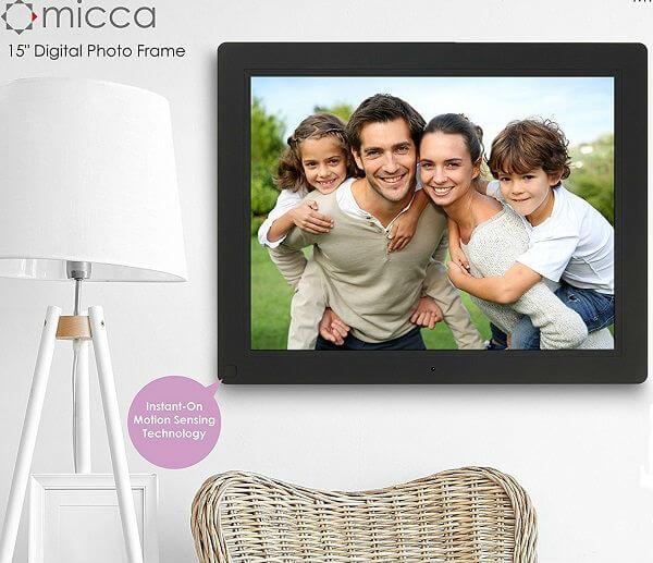 Micca NEO 15-Inch Digital Photo Frame