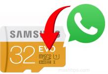 Move WhatsApp Files to SD Card