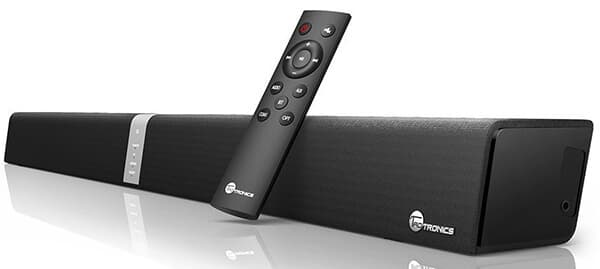 TaoTronics Sound Bar Wired Wireless Bluetooth
