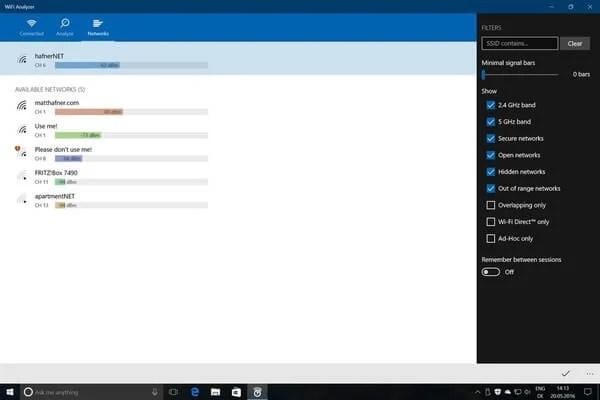 10 Best Windows WiFi Analyzer Software | Mashtips