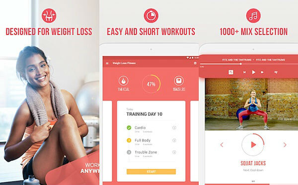 Weight loss fitness App