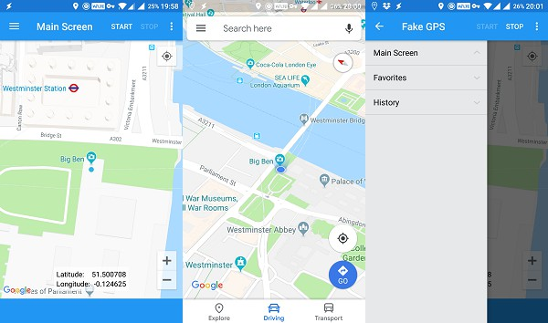 5 Best Apps to Fake GPS Location on Android | Mashtips