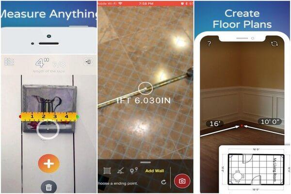 Best AR apps for iOS - AirMeasure