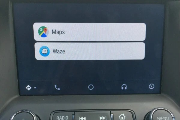 Set Waze Default Android Auto