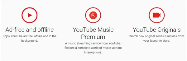 Chrome YouTube Premium Page