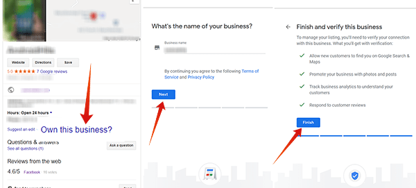 How to claim your business