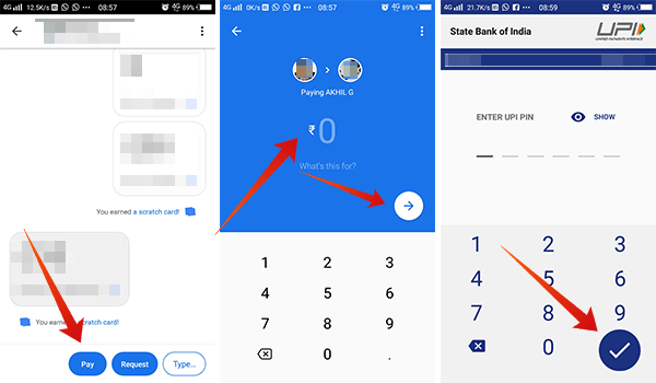 How to send money using Google Pay Tez
