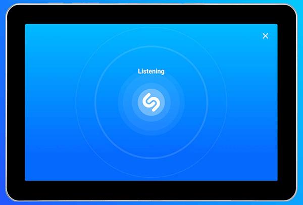 Shazam app on Android