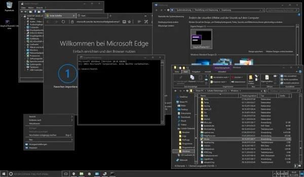 10 Best Dark Themes for Windows 10 | Mashtips