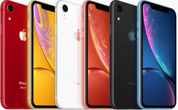 Apple iPhone XR Color Variants