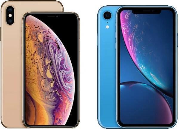 iPhone XS-XR Comparison