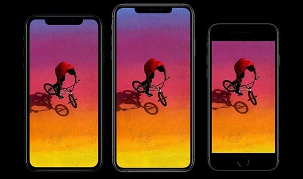 iPhone XS vs XR vs iPhone 8 Display