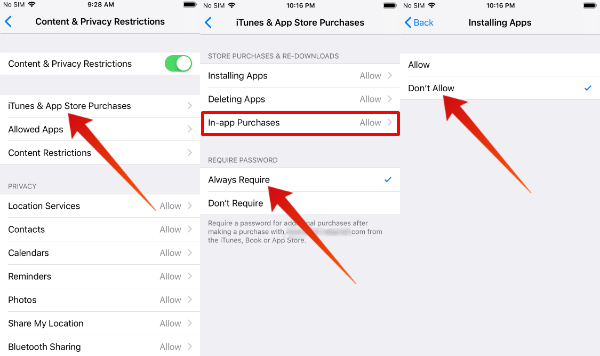 Parental Control : How to Set Restrictions on your iPhone?