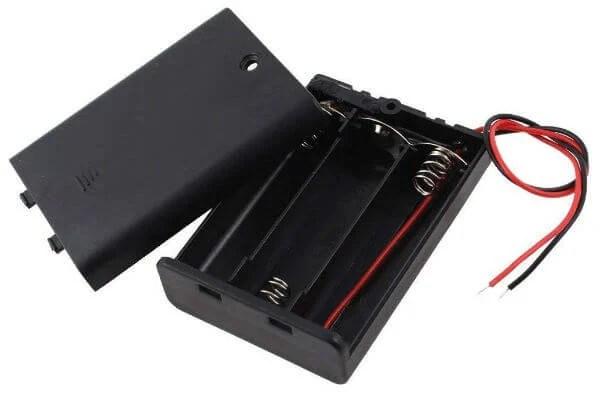 3 AA Battery Holder