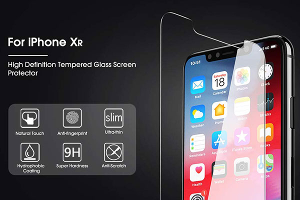 OMOTON Tempered Glass Screen Protector