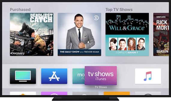 Lifilimi tsa Apple iTunes ho Apple TV