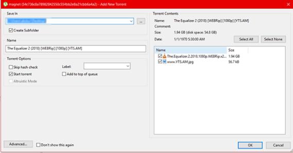 Khoasolla lifilimi ho Windows sebelisa Pop Pop Nako Download u sebelisa Torrent