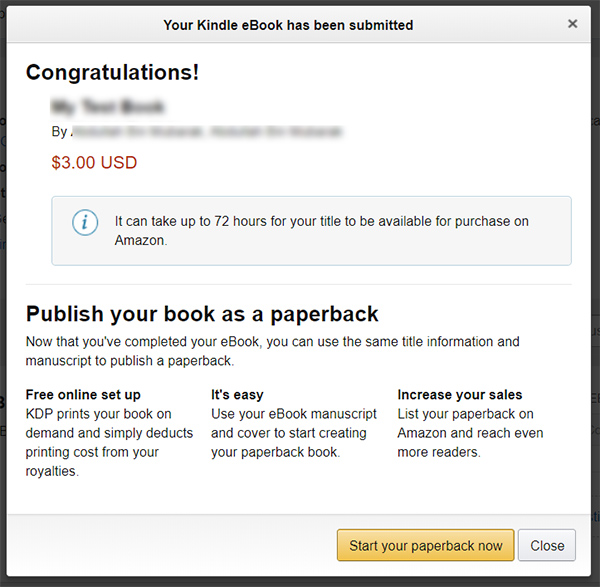 Complete Guide to Self-Publish eBook on Amazon Kindle | Mashtips