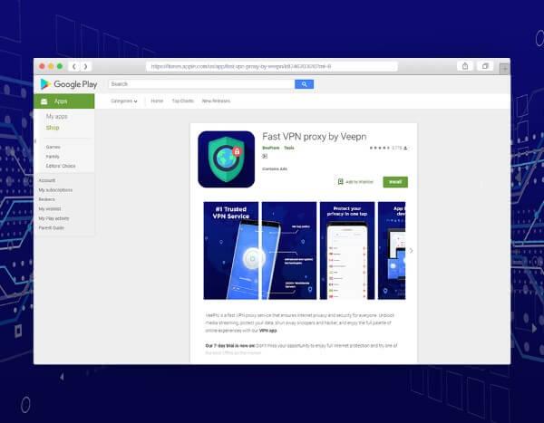 VeePN on Google Play