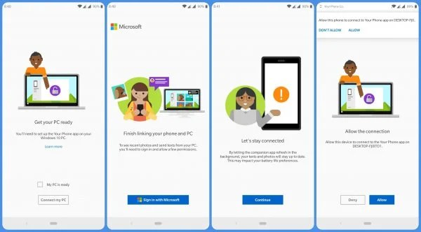 How to Sync Android Phone With Windows 10 PC  | Mashtips