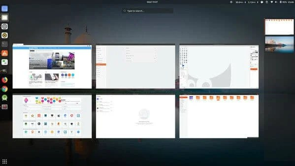 GNOME Linux Desktop Environment