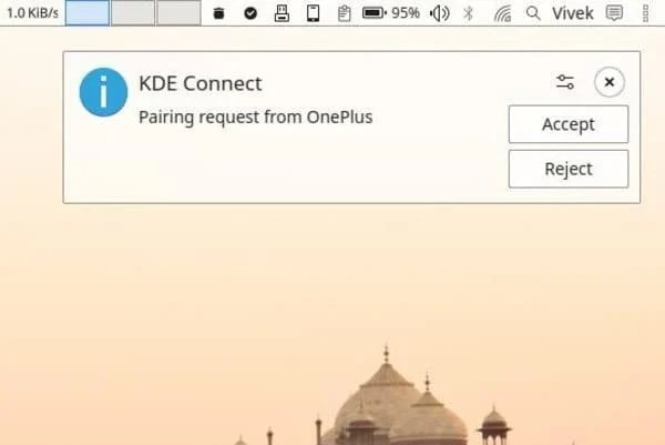 How To Sync Android Device and Linux PC With KDE Connect