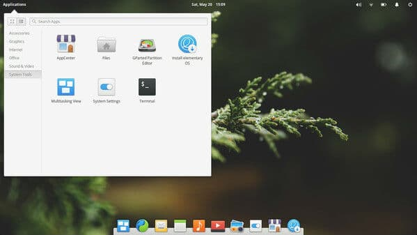 Pantheon Linux Desktop Environment