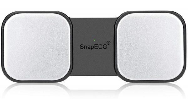 SnapECG EKG Monitor, Heart Rate Capture