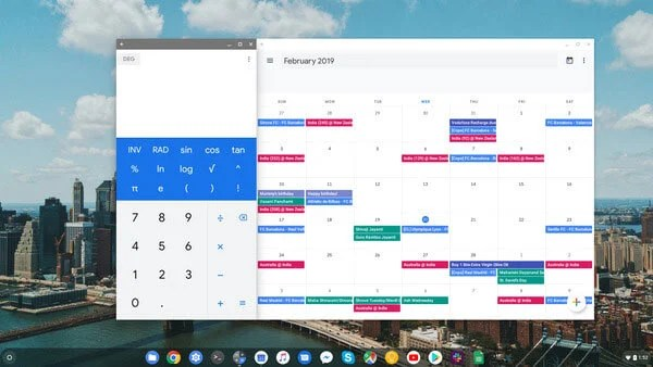 calculator calendar and other tools