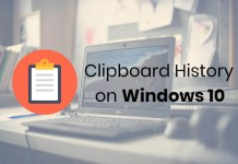 How to get clipboard history on Windows 10