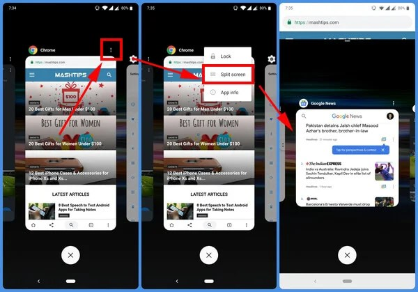 How to Enable Split Screen On OnePlus | Mashtips