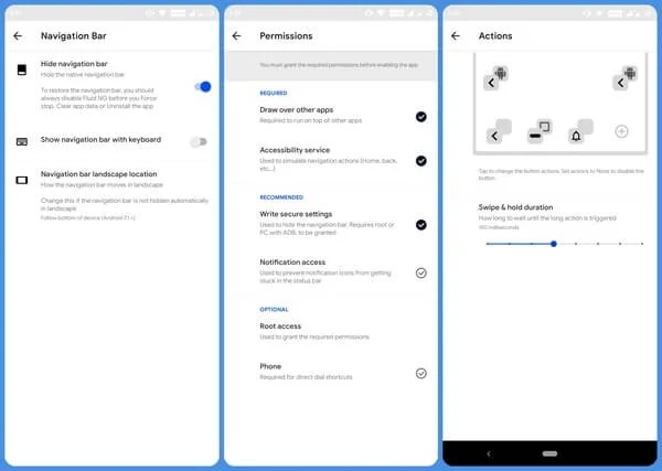 How to Get Full-Screen Navigation Gestures on Any Android