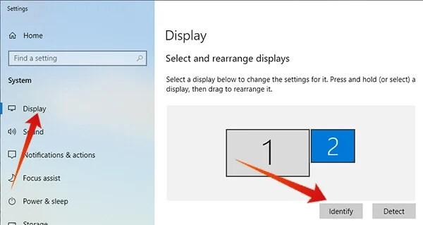 Arrange the iPad as Second Screen on Windows
