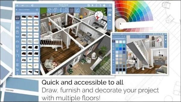 Renovate or rebuild with Home Design app