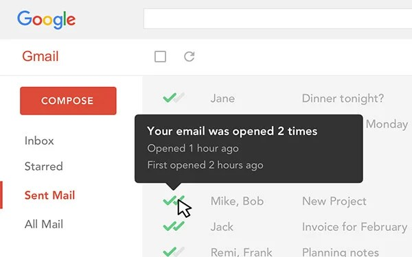 Mailtrack for Gmail Add-on