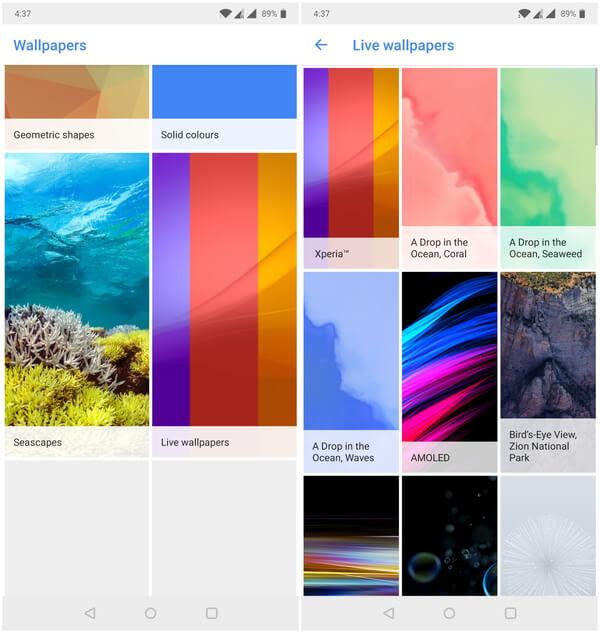 Google pixel Live Wallpapers 2018
