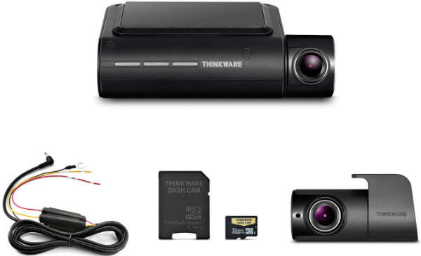 Thinkware F800 Pro Dash Cam Front and Rear