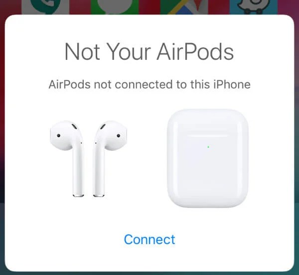AirPods Connect Manually iPhone