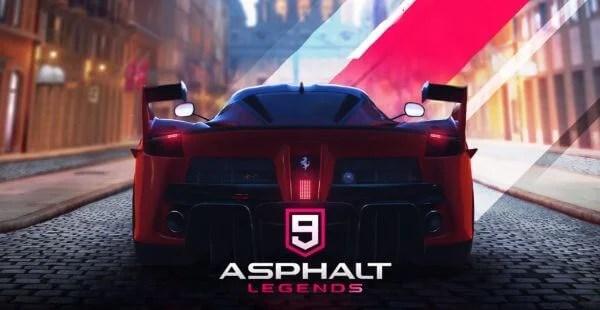 Asphalt 9 Legends game